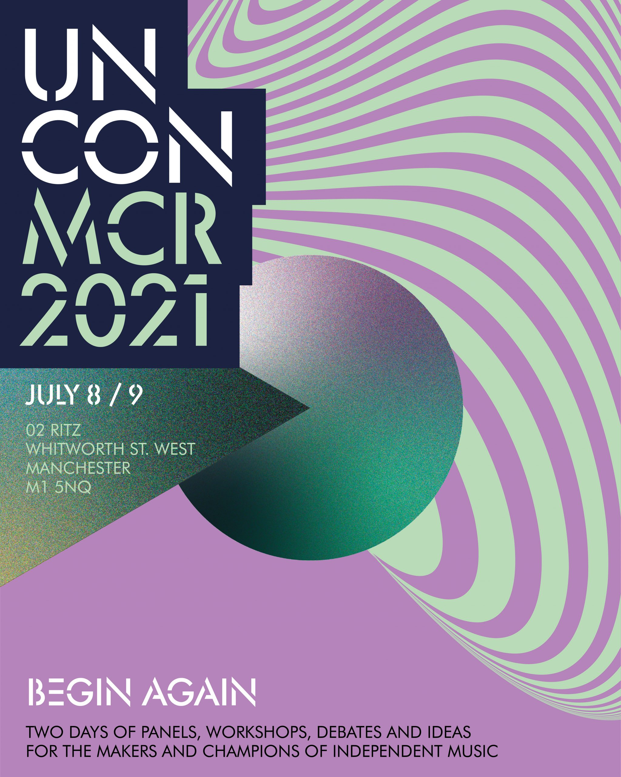 Un-Convention 2021 | O2 Ritz Manchester | Thu 8th July 2021